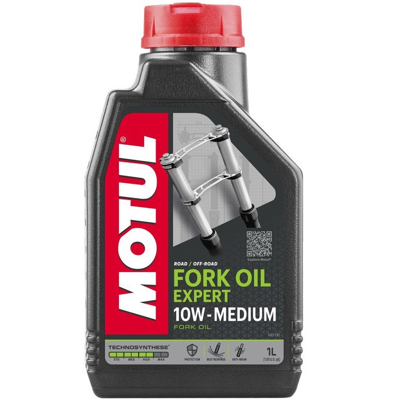 Масло MOTUL 10W  Для Мото Вилок FORK OIL WXPERT MEDIUM (1L)