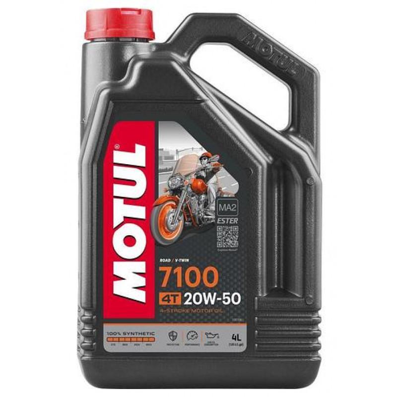 Масло MOTUL 20W50 4T 7100 (4 L)