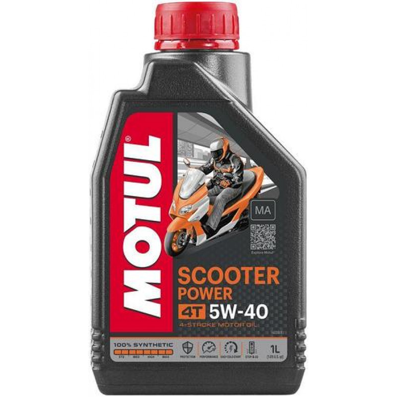 Масло MOTUL 5W40 4T SCOOTER POWER (1 L)