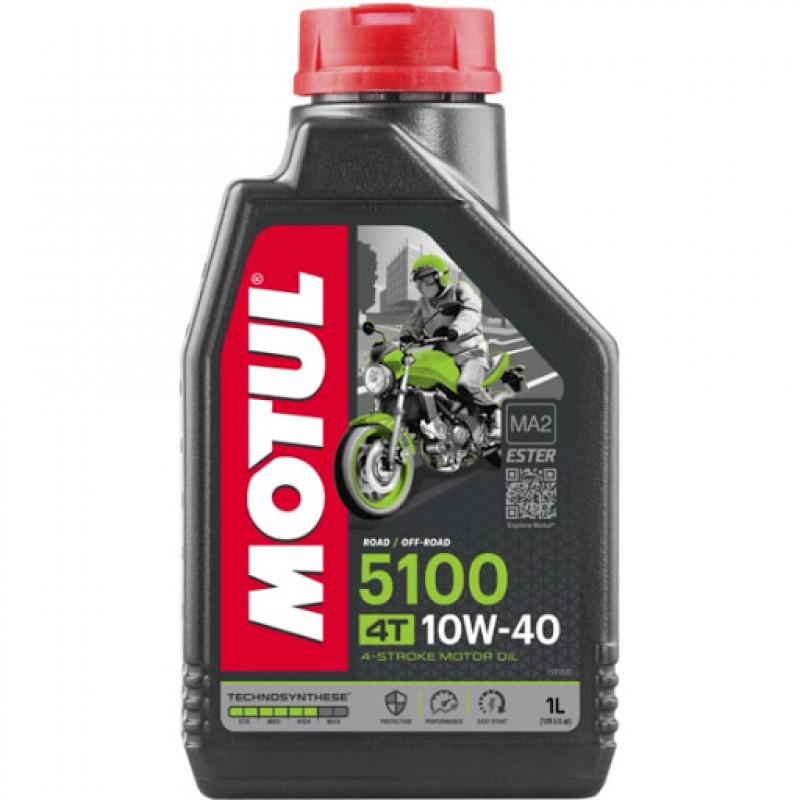 Масло Motul 10w40 5100 4T