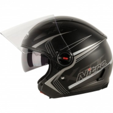 Мотошлем Nitro X600 TETRA BLACK/GUN